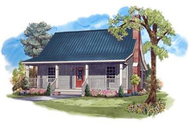 Dream House Plan - Farmhouse Exterior - Front Elevation Plan #21-232