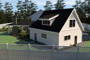 Farmhouse Style House Plan - 5 Beds 3.5 Baths 3190 Sq/Ft Plan #1070-23 Exterior - Other Elevation