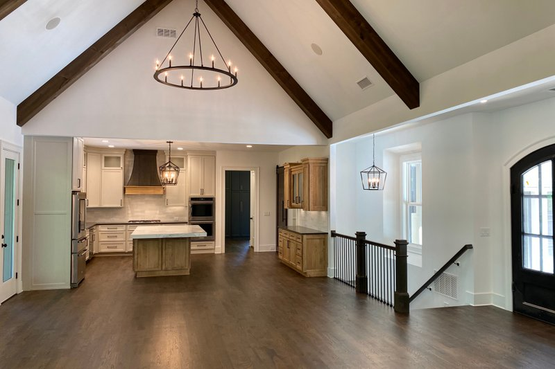 Architectural House Design - Craftsman Interior - Kitchen Plan #437-115