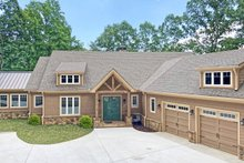 Craftsman Exterior - Front Elevation Plan #437-121