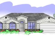 House Plan - 4 Beds 2 Baths 1612 Sq/Ft Plan #24-233 Exterior - Front Elevation