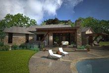 House Design - Ranch Exterior - Rear Elevation Plan #120-194