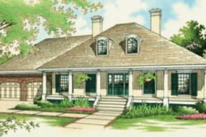 Traditional Exterior - Front Elevation Plan #45-128