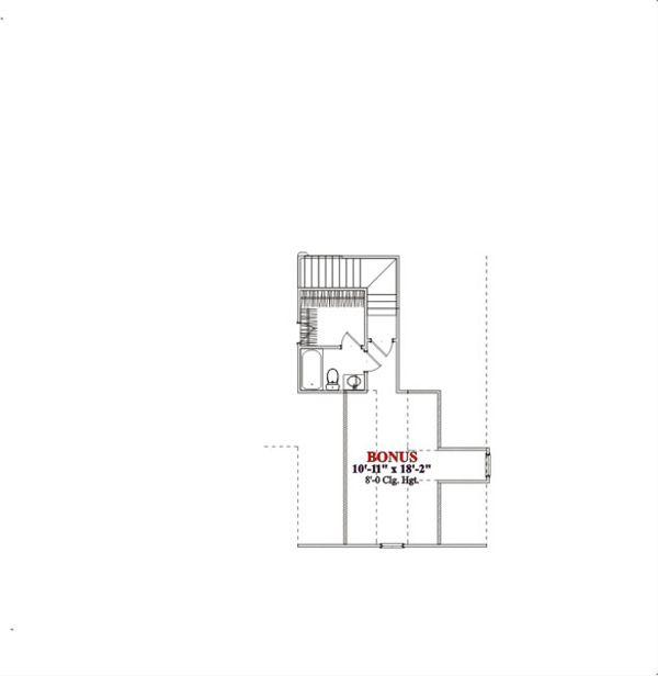 Traditional Floor Plan - Other Floor Plan Plan #63-203
