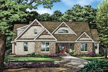Architectural House Design - Craftsman Exterior - Front Elevation Plan #929-1057