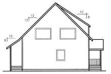 Modern Exterior - Rear Elevation Plan #60-598