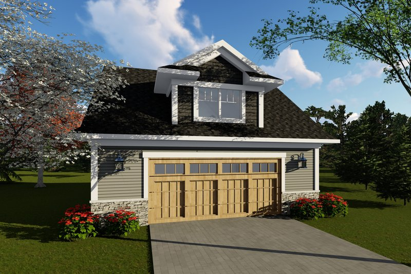 House Plan Design - Traditional Exterior - Front Elevation Plan #70-1408