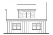 House Plan Design - Craftsman Exterior - Other Elevation Plan #124-891