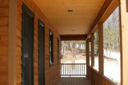 Cabin Style House Plan - 2 Beds 2 Baths 1154 Sq/Ft Plan #118-102 Exterior - Other Elevation