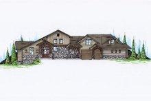 Dream House Plan - Craftsman Exterior - Front Elevation Plan #5-463