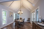 Craftsman Style House Plan - 3 Beds 2.5 Baths 2528 Sq/Ft Plan #929-962 Interior - Dining Room
