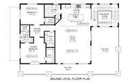 Contemporary Style House Plan - 2 Beds 2 Baths 1850 Sq/Ft Plan #932-217 Floor Plan - Upper Floor