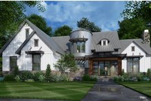 Architectural House Design - Contemporary Exterior - Front Elevation Plan #120-268