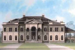 European Exterior - Front Elevation Plan #119-178