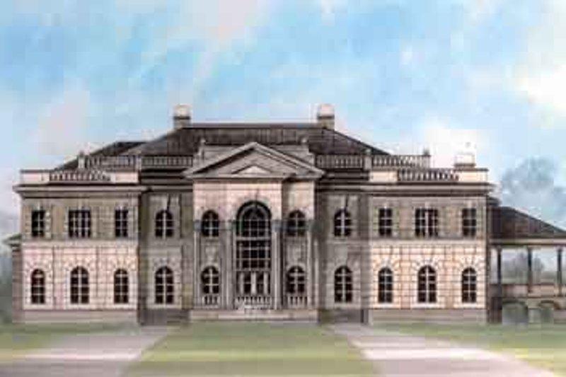 House Design - European Exterior - Front Elevation Plan #119-178