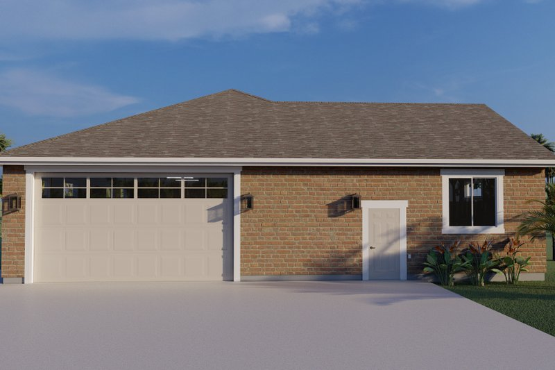 Home Plan - Traditional Exterior - Front Elevation Plan #1060-79