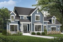 Architectural House Design - Craftsman Exterior - Front Elevation Plan #23-832