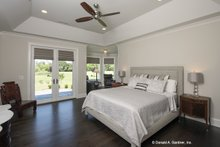 Dream House Plan - European Interior - Master Bedroom Plan #929-903