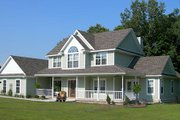 Country Style House Plan - 4 Beds 2.5 Baths 2327 Sq/Ft Plan #11-120 Photo