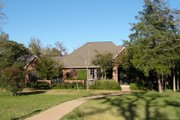 Traditional Style House Plan - 3 Beds 2 Baths 2502 Sq/Ft Plan #408-107 Exterior - Front Elevation
