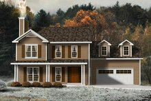 House Plan Design - Modern Exterior - Front Elevation Plan #22-501