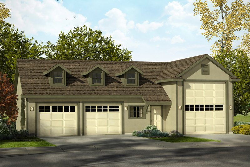 Dream House Plan - Traditional Exterior - Front Elevation Plan #124-996