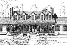 Dream House Plan - Southern Exterior - Other Elevation Plan #3-223