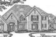 European Style House Plan - 4 Beds 4.5 Baths 4518 Sq/Ft Plan #310-517