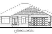 Traditional Style House Plan - 4 Beds 2 Baths 2085 Sq/Ft Plan #133-106 Exterior - Other Elevation