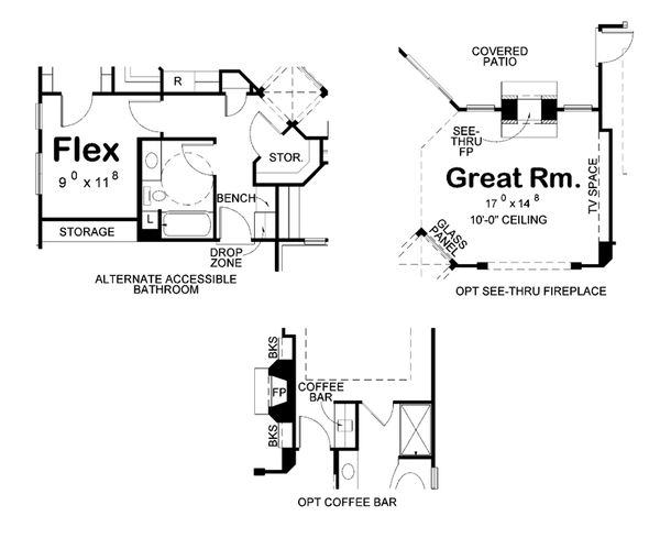 European Floor Plan - Other Floor Plan Plan #20-2145