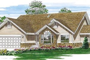 Traditional Exterior - Front Elevation Plan #47-254