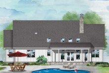Dream House Plan - Farmhouse Exterior - Rear Elevation Plan #929-1114