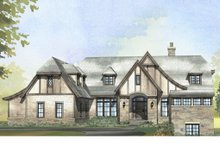 Tudor Exterior - Front Elevation Plan #901-119