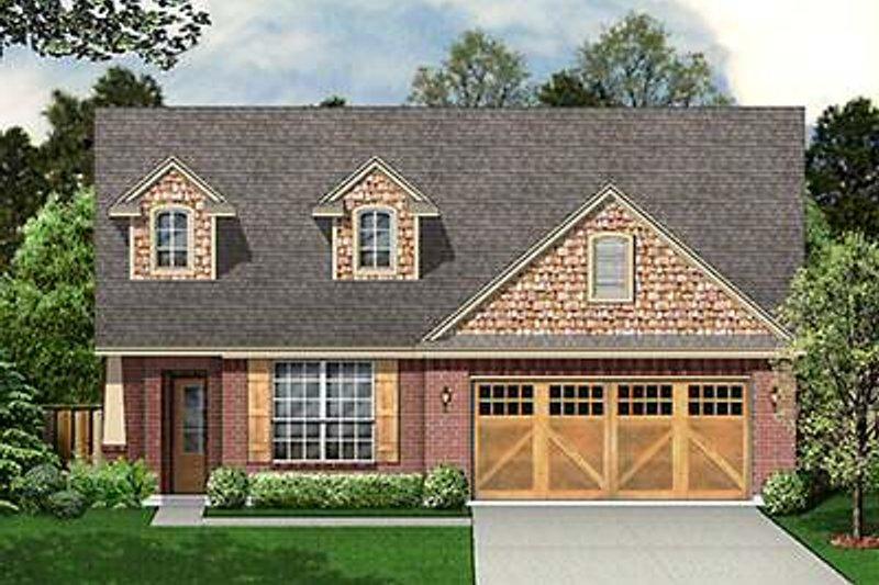 Craftsman Exterior - Front Elevation Plan #84-265 - Houseplans.com