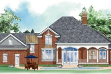 House Plan Design - Traditional Exterior - Rear Elevation Plan #930-261