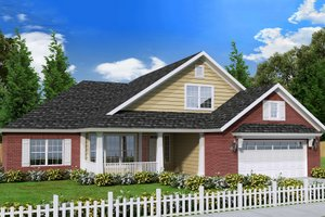 Traditional Exterior - Front Elevation Plan #513-2064