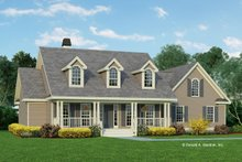 Dream House Plan - Country Exterior - Front Elevation Plan #929-225