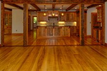 Country Interior - Kitchen Plan #137-280