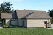 Craftsman Style House Plan - 3 Beds 2.5 Baths 2546 Sq/Ft Plan #1070-38 Exterior - Other Elevation