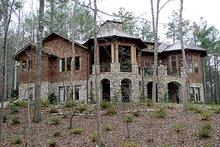 Dream House Plan - Craftsman Exterior - Rear Elevation Plan #453-43