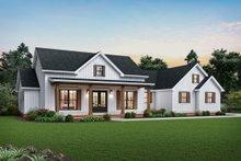 Home Plan - Farmhouse Exterior - Front Elevation Plan #48-983
