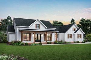 Farmhouse Exterior - Front Elevation Plan #48-983