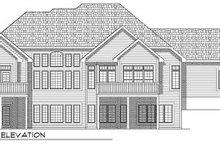 Dream House Plan - Mediterranean Exterior - Rear Elevation Plan #70-780