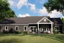 Architectural House Design - Craftsman Exterior - Rear Elevation Plan #1064-66