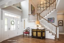 Traditional Interior - Entry Plan #929-811