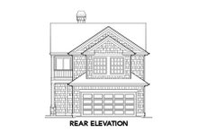 Dream House Plan - Traditional Exterior - Rear Elevation Plan #48-311