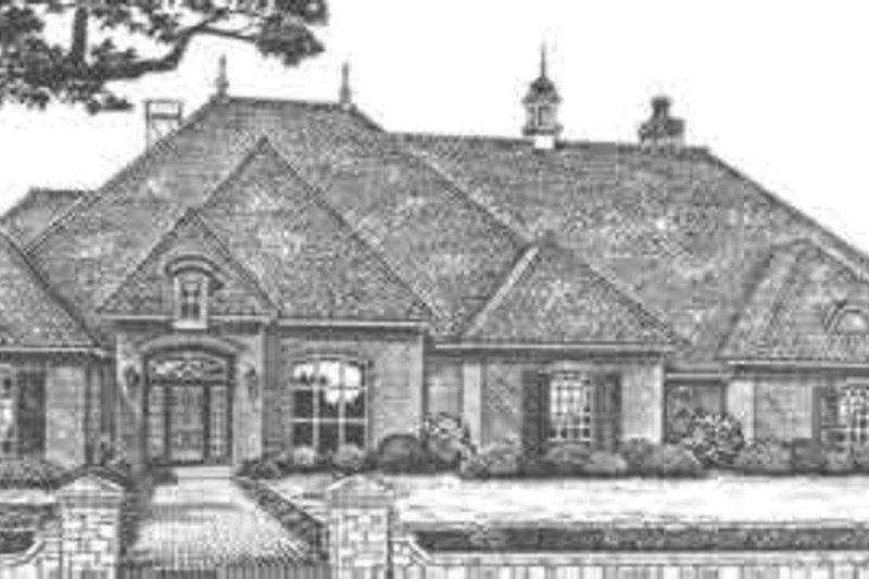 Home Plan - European Exterior - Front Elevation Plan #310-509