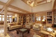Prairie Style House Plan - 5 Beds 4 Baths 6734 Sq/Ft Plan #454-10 Photo