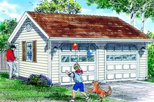 House Plan Design - Traditional Exterior - Front Elevation Plan #47-499