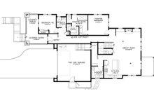 Craftsman Floor Plan - Main Floor Plan Plan #895-45